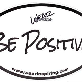 Be Positive Decal