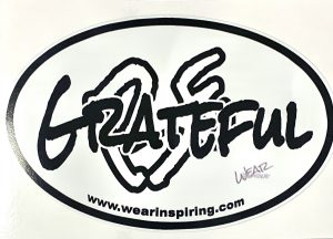 Be Grateful Decal